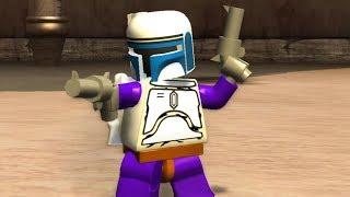 LEGO Star Wars The Complete Saga Walkthrough Part 10 - Fett!