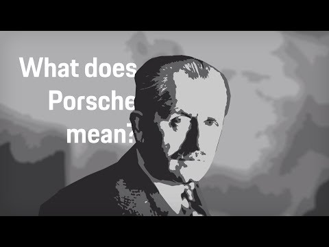 "What does Porsche mean""    Porsche answers your most popular questions."