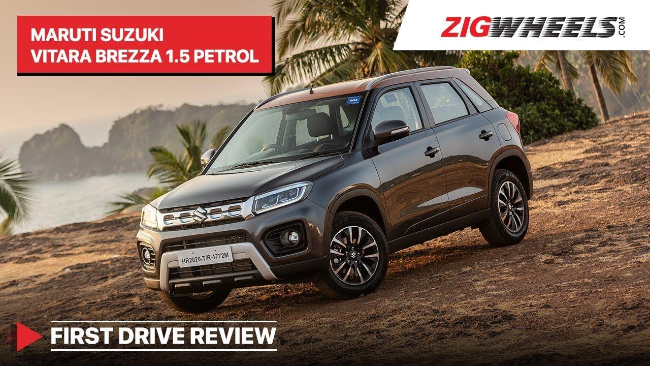 Maruti Vitara Brezza Petrol 2020 Review | Get The Manual! | Zigwheels.com