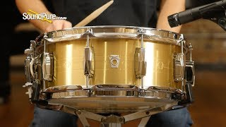 Ludwig 5.5x14 Heirloom Brass Snare Drum - Quick 'N' Dirty