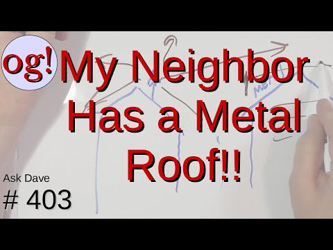 Will My Neighbor's Metal Roof Affect My VHF Signal? (#403)