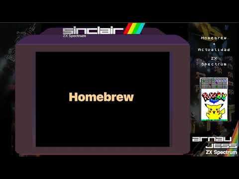 Monográfico HOMEBREW + ACTUALIDAD ZX Spectrum