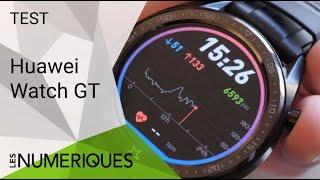 Vidéo-Test : Test de la Huawei Watch GT : une expérience complète