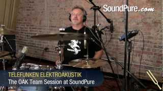 TELEFUNKEN ELEKTROAKUSTIK Multi-Track Session with The Olympic Ass Kicking Team