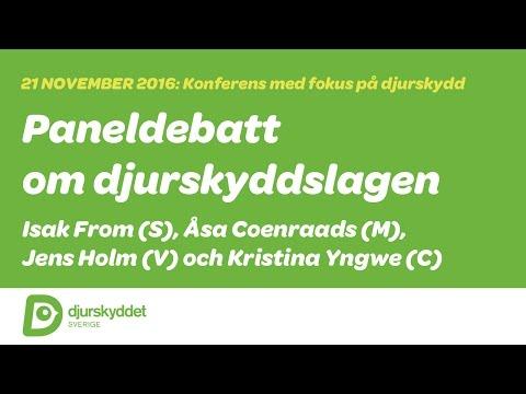 Med fokus på djurskydd: Paneldebatt med riksdagspolitiker