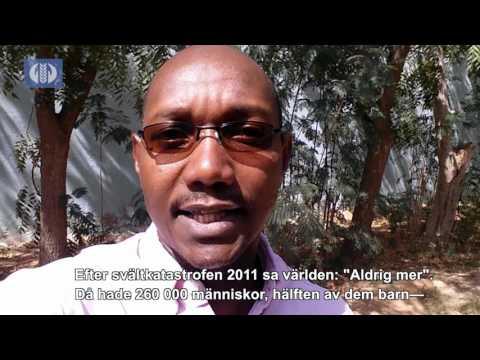 Extrem torka drabbar östra Afrika