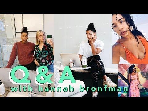 Q&A with Hannah Bronfman!   Estée Lalonde