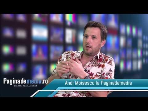 PaginademediaTV. Andi Moisescu
