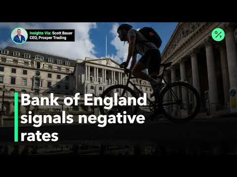Bank of England eyes negative rates in face of Brexit, virus