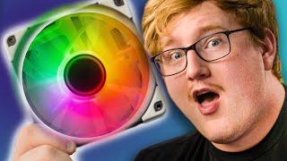 Noctua FINALLY gets RGB....kinda - Phanteks Halo Lux Fan Frames