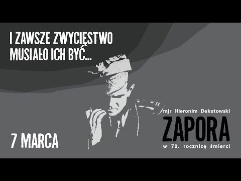 """Mjr Hieronim Dekutowski """"Zapora"""". Żołnierz Niezłomny – koncert w rocznicę śmierci"""
