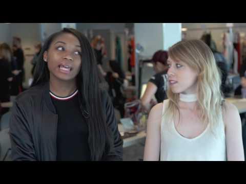 "BEHIND THE SCENES - ""GENURBAN"" LIM College's Annual Fashion Show"