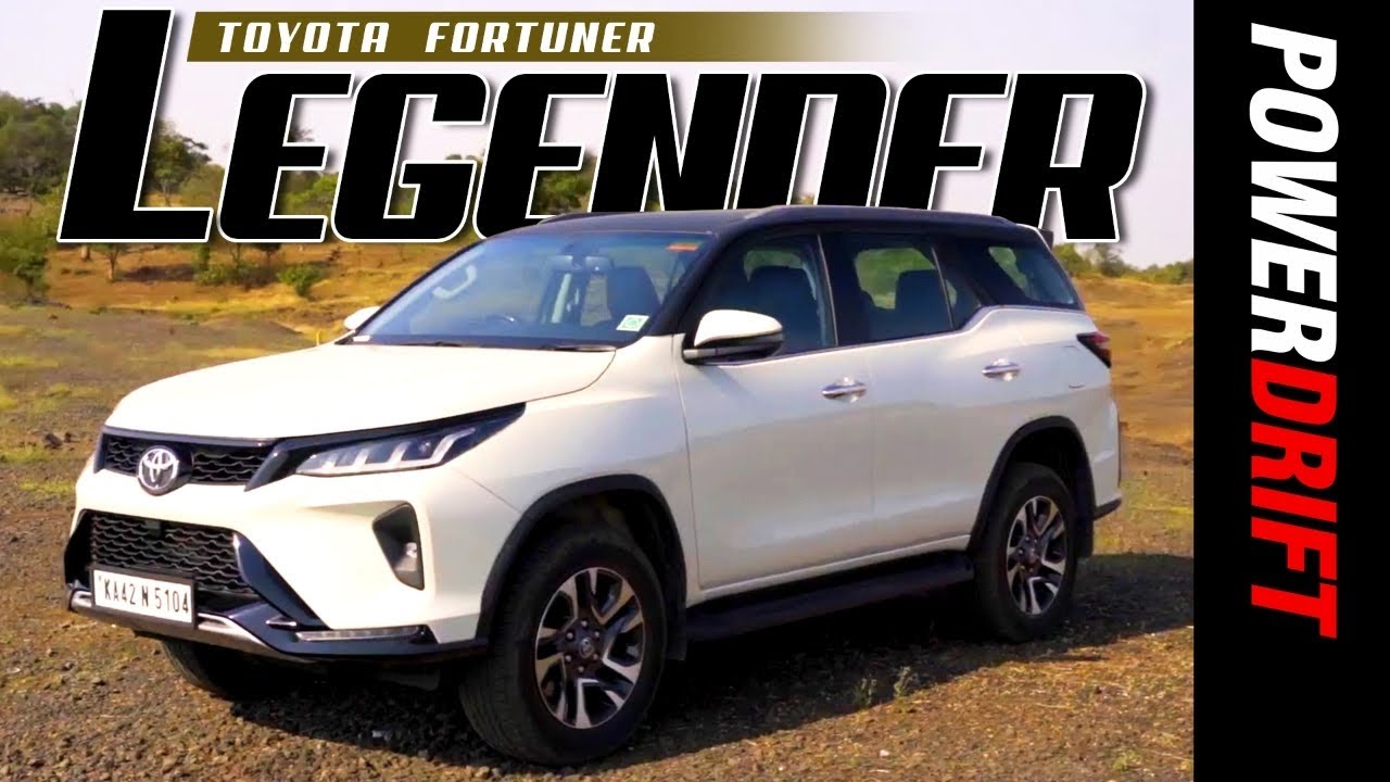 Toyota Legender | First Drive Review | Powerdrift