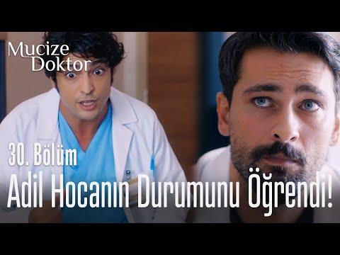 Ali, Adil hocanın durumunu öğreniyor! - Mucize Doktor 30. Bölüm