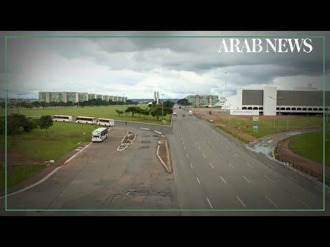 Coronavirus: Brazil streets empty