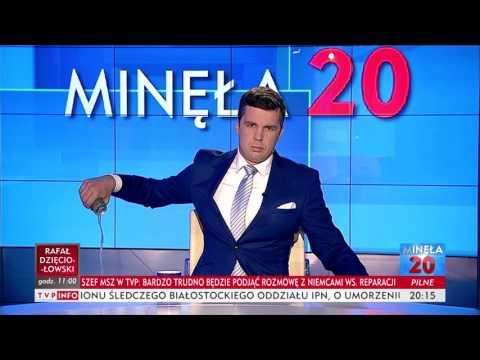 Michał Rachoń na antenie TVP Info wylewa Tigera