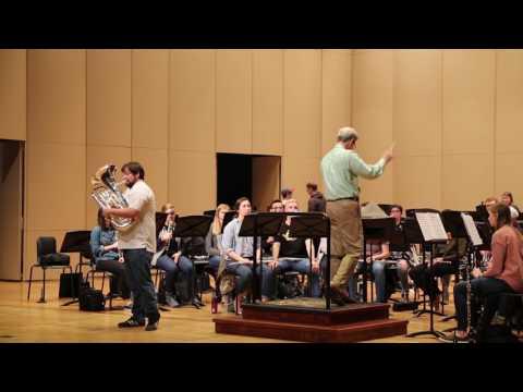 Behind the Scenes: School of Music's Wind Ensemble Concert