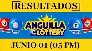 Anguilla Lottery Quiniela 05 PM Resultados de Hoy 1 de Junio del 2020 Todas Las Loterías Dominicana