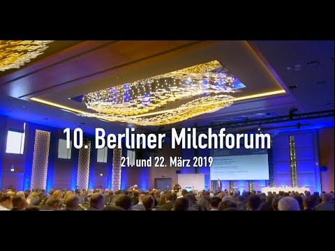 MIV Berliner Milchforum am 21./22.03.2019