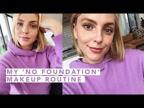 MY NO-FOUNDATION MAKEUP ROUTINE | Estée Lalonde