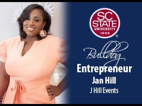 "SC State Celebrates ""Bulldog Entrepreneur�—Jan Hill"