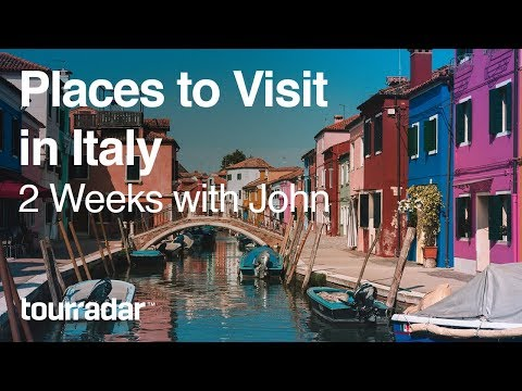 Places to Visit in Italy 2 Weeks with John VLOG 2/2