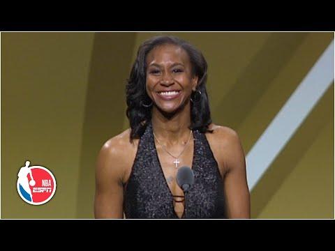 Tamika Catchings: 'Basketball chose me' | 2020 Basketball Hall of Fame