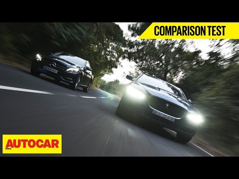 Mercedes C 200 VS Jaguar XE 25T | Comparison Test | Autocar India