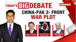 China-Pak 2-front war plot | Pak denies army buildup | NewsX - NEWSXLIVE