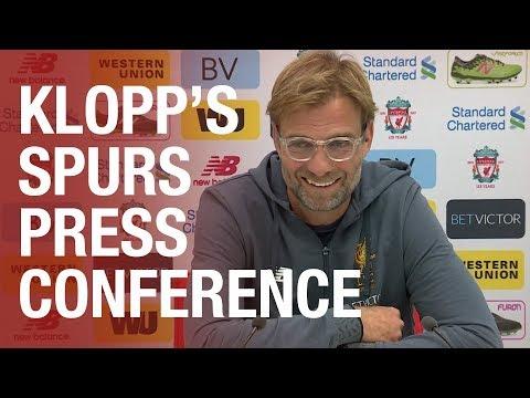 Jürgen Klopp's press conference ahead of Spurs Wembley clash | Mane update, Salah and more