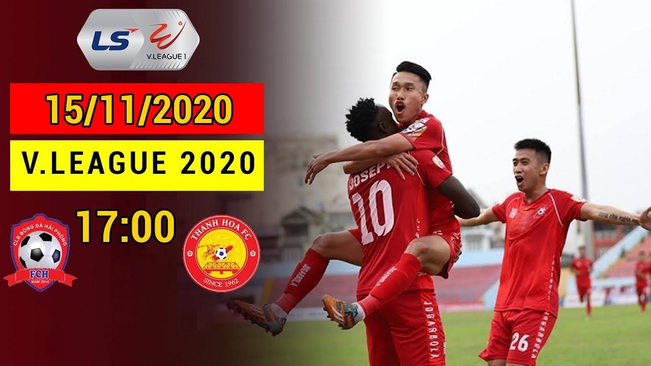 🔴 Hải Phòng FC – Thanh Hóa FC | Ngày thi đấu rực sáng của Mpande – Xuân Tú