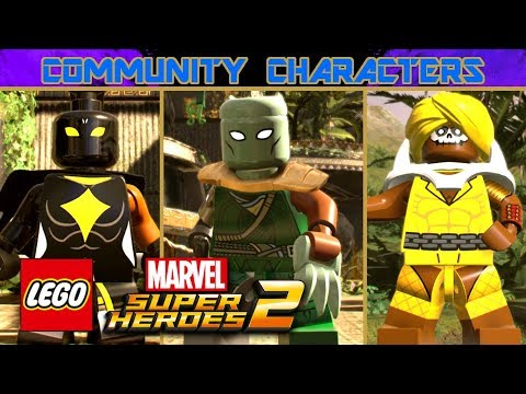 connectYoutube - LEGO Marvel Super Heroes 2: Community Characters - Episode 3: Black Panther