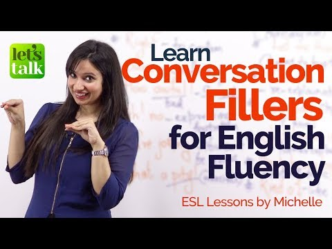 Conversation Fillers for English Fluency – Keep the conversation going | Advanced English Lesson