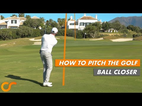 HOW TO PITCH THE GOLF BALL CLOSER