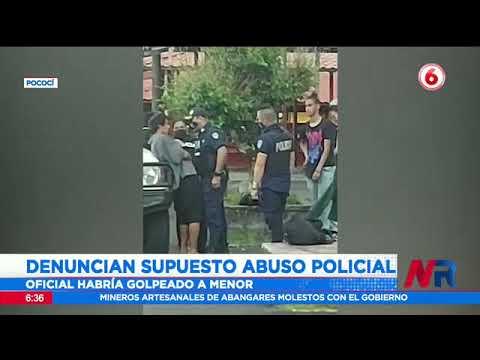 Denuncian presunto abuso policial en Pococí