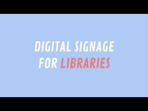 ScreenScape Digital Signage for Libraries