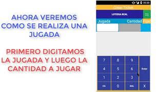 Como Vender Loterias Con la Aplicacion Lottery Ventas