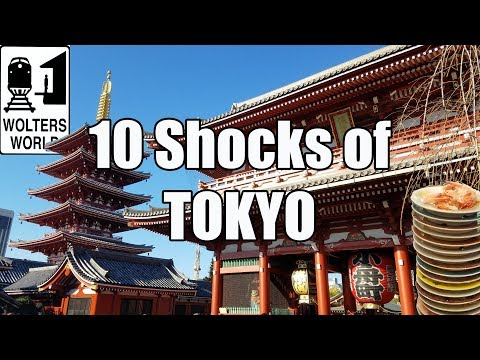 connectYoutube - Visit Tokyo - 10 Things That Will SHOCK You About Tokyo, Japan