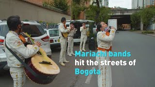 Mariachi bands take their music back to the streets during pandemic