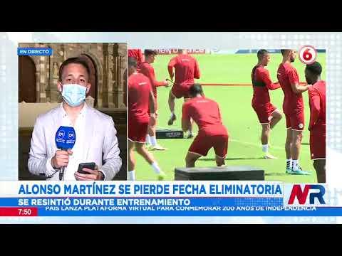 Alonso Martínez queda fuera de La Sele