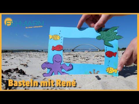 Animation für Zuhause - Bilderrahmen Basteln mit René 🖼️
