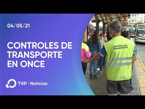 Controles de transporte en Once