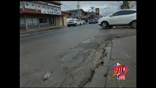 WASA Works On Repairs To Ariapita Avenue