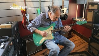 Suhr Ian Thornley Signature Seafoam Green Electric #JS3P3J Quick 'n' Dirty