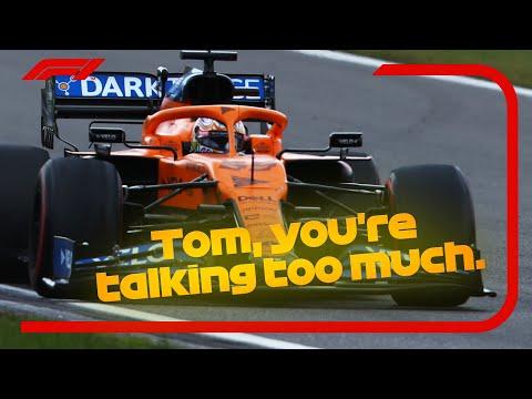 Raucous Ricciardo, Sainz Wants Silence And The Best Team Radio   2020 Eifel Grand Prix