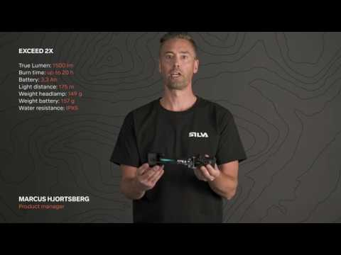 SILVA Exceed 2X - powerful headlamp for downhill bikers and skiers
