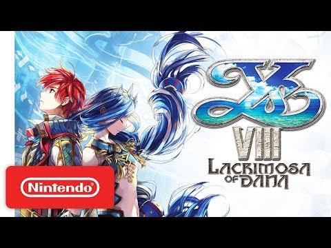 connectYoutube - Ys VIII: Lacrimosa of DANA Arrives on Nintendo Switch!