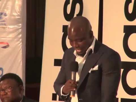 VIDEO: Iconic ex-Ghana captain Stephen Appiah unveiled as Peace Ambassador ahead of November polls