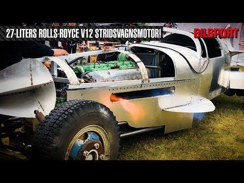 650 hk/2.100 Nm: Flygplansbil med 27-liters stridsvagnsmotor (Bilsport 12/2018)