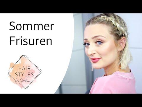 3 Sommer Frisuren für heiße Tage